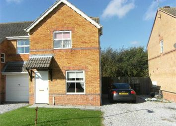 Thumbnail 2 bed semi-detached house to rent in Riverside Court, Dinnington, Sheffield, South Yorkshire, UK