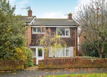 Thumbnail 3 bed semi-detached house for sale in Brentwood Road, Brighton, East Sussex, England