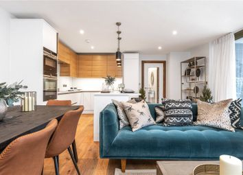 Thumbnail 2 bed flat for sale in Geffrye Place, 32 Cremer Street, London