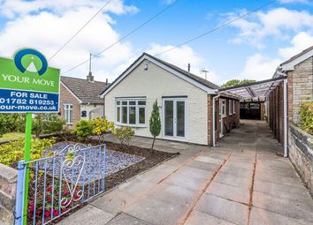Thumbnail 3 bed bungalow for sale in Merrion Drive, Bradeley, Stoke-On-Trent