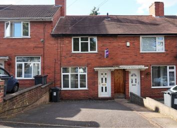 Thumbnail 2 bed terraced house for sale in Longstone Road, Great Barr, Birmingham