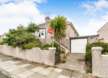Thumbnail 2 bed semi-detached bungalow for sale in Seacroft Road, Plymouth