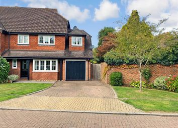 Thumbnail 4 bed semi-detached house for sale in Church Close, Ashington, West Sussex