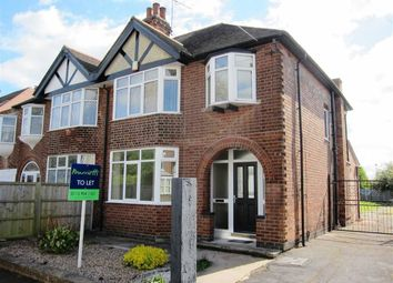 Thumbnail 3 bed semi-detached house to rent in Blyth Street, Mapperley, Nottingham
