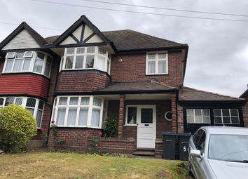 Thumbnail 3 bed semi-detached house to rent in Lindale Avenue, Hodge Hill, Birmingham