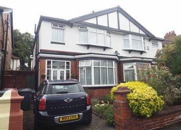 Thumbnail 3 bed semi-detached house for sale in Winchester Avenue, Prestwich, Manchester
