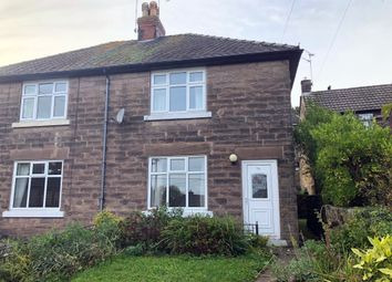 Thumbnail 2 bed semi-detached house to rent in The Common, Crich, Matlock