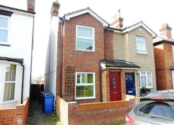 Thumbnail 3 bedroom semi-detached house for sale in Bramford Lane, Ipswich