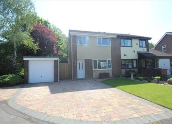 Thumbnail 3 bed property for sale in St James Gardens, Leyland
