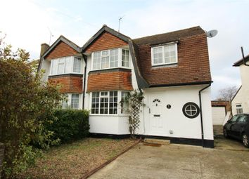 Thumbnail 3 bed semi-detached house for sale in Valentine Crescent, Caversham, Reading