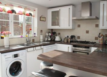 Thumbnail 3 bed town house for sale in Padley Close, Chessington