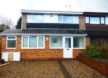 Thumbnail 3 bedroom semi-detached house for sale in Osmaston Road, Harborne, Birmingham