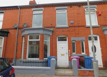 Thumbnail 3 bed terraced house to rent in Barrington Road, Liverpool, Merseyside
