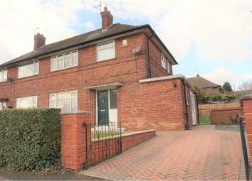 Thumbnail 3 bed semi-detached house for sale in Cranmore Crescent, Leeds