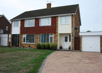 Thumbnail 3 bed semi-detached house to rent in Fisher Way, Thetford