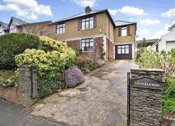 Thumbnail 4 bed semi-detached house for sale in Newport Road, Old St. Mellons, Cardiff