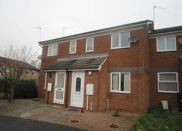 Thumbnail 2 bed terraced house to rent in Portsmouth Close, Worcester