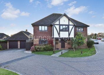 Thumbnail 5 bed detached house for sale in Richardson Crescent, Cheshunt, Herts