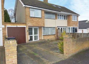 Thumbnail 3 bed semi-detached house to rent in Merryfields Avenue, Hockley