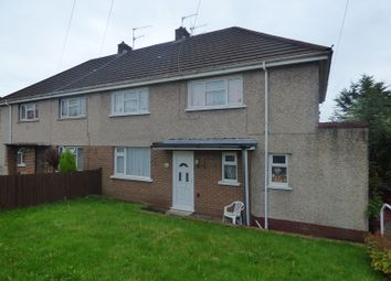 Thumbnail 1 bed flat for sale in Heol Catwg, Caewern, Neath .