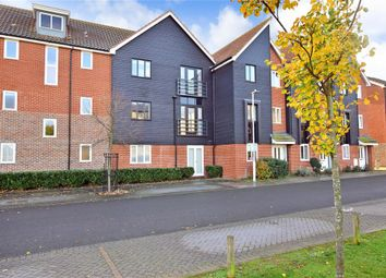 Thumbnail 2 bed flat for sale in Edward Vinson Drive, Faversham, Kent