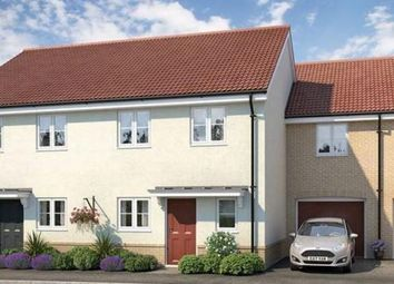Thumbnail 3 bedroom semi-detached house for sale in Fornham Place At Marham Park, Off Tut Hill, Bury St Edmunds