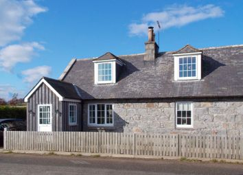 Thumbnail 4 bed cottage for sale in Forbes, Alford