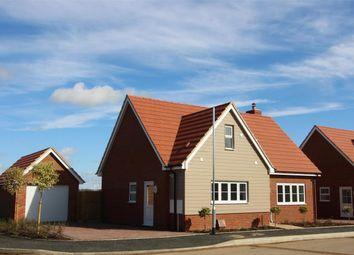 Thumbnail 3 bed detached house for sale in Walnut Close, Blunham, Bedford
