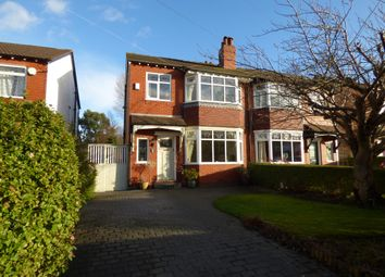 Thumbnail 3 bed semi-detached house for sale in Cromley Road, Stockport