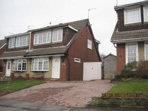 Thumbnail 3 bed semi-detached house to rent in Southwood Drive, Baxenden, Accrington