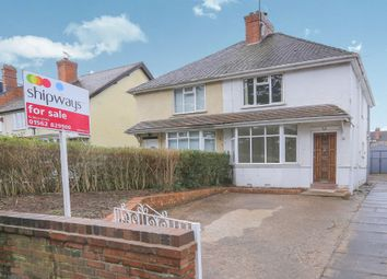 Thumbnail 2 bed semi-detached house for sale in Sutton Road, Kidderminster