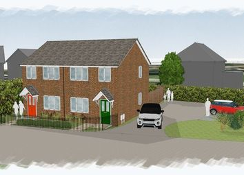 Thumbnail 3 bed semi-detached house for sale in Queens Road, Brymbo, Wrexham