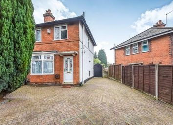 Thumbnail 2 bed end terrace house for sale in St. Heliers Road, Northfield, Birmingham, West Midlands