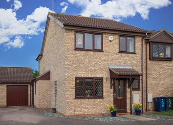 Thumbnail 3 bed end terrace house for sale in The Rowans, Milton, Cambridge