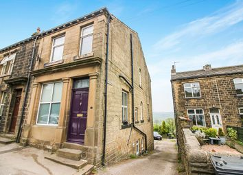 Thumbnail 3 bed terraced house for sale in Leesworth Court, Haworth Road, Cross Roads, Keighley