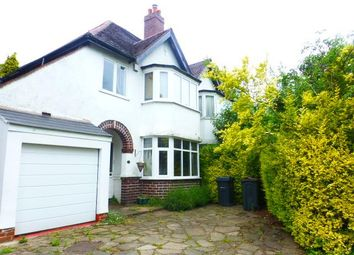 Thumbnail 3 bed semi-detached house to rent in Oaklands Avenue, Harborne, Birmingham