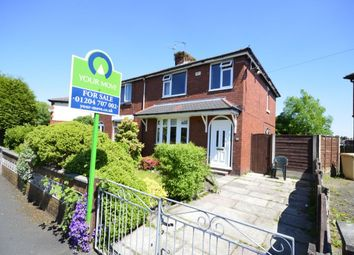 Thumbnail 3 bedroom semi-detached house for sale in Aster Avenue, Farnworth, Bolton