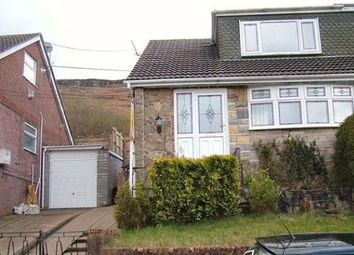 Thumbnail 3 bed semi-detached house to rent in Hillcrest Drive, Porth
