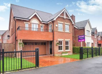 Thumbnail 5 bed detached house for sale in Carrwood Way, Walton Park, Walton-Le-Dale, Preston