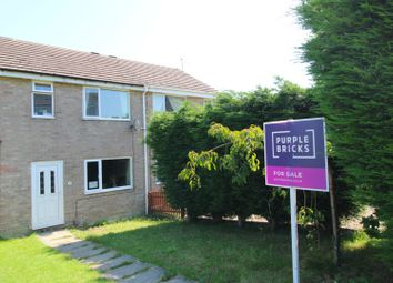 Thumbnail 3 bed terraced house for sale in Howden Close, Cowlersley, Huddersfield