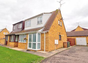 Thumbnail 3 bed semi-detached house for sale in Lavington Grange, Peterborough