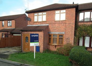 Thumbnail 3 bed semi-detached house to rent in Selwyn Close, Daventry