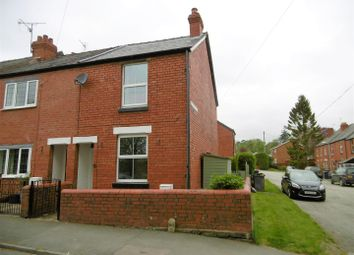 Thumbnail 2 bedroom end terrace house to rent in Jennings Road, Oswestry