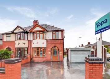 Thumbnail 3 bed semi-detached house for sale in Wolstanton Road, Chesterton, Newcastle-Under-Lyme