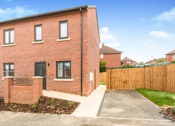 Thumbnail 2 bedroom semi-detached house for sale in Brander Road, Gipton, Leeds