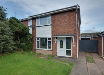 Thumbnail 3 bed semi-detached house for sale in Bracken Way, Rugeley