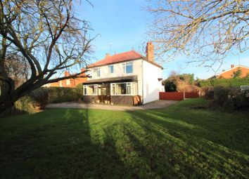 Thumbnail 4 bed detached house for sale in Hawarden Road, Hope, Wrexham