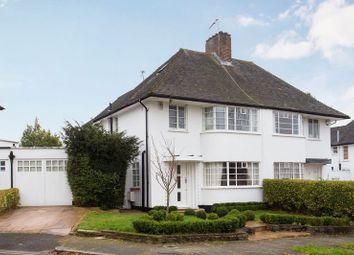 Thumbnail 4 bed semi-detached house for sale in Howard Walk, Hampstead Garden Suburb