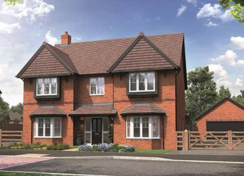 """Thumbnail 5 bedroom detached house for sale in """"The Solville"""" at School Road, Salford Priors, Evesham"""
