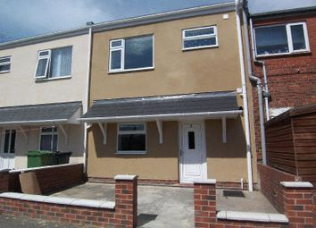 Thumbnail 3 bed terraced house to rent in Hollymount Avenue, Bedlington